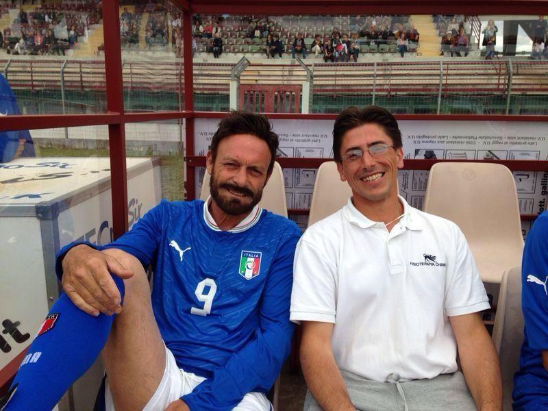 Arezzo - Partita del cuore - servizio di massofisioterapia
