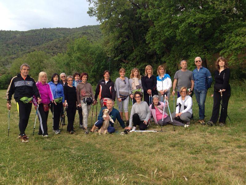 Monte Lignano (AR) - Foto di gruppo a Rigutinelli