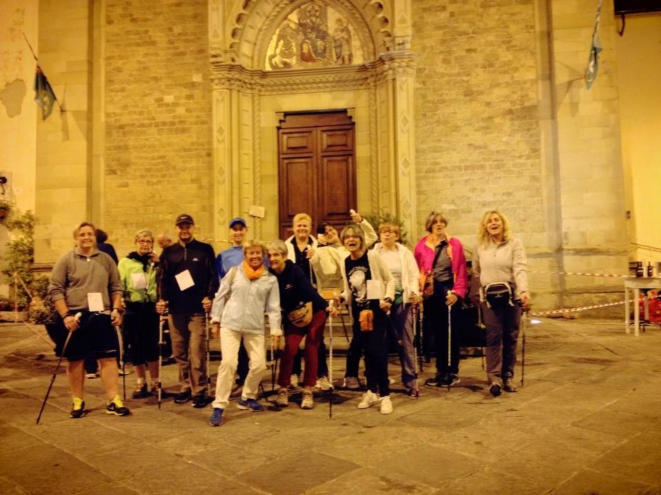 Arezzo - Notturna cittadina con la Podistica di Claudio Viti