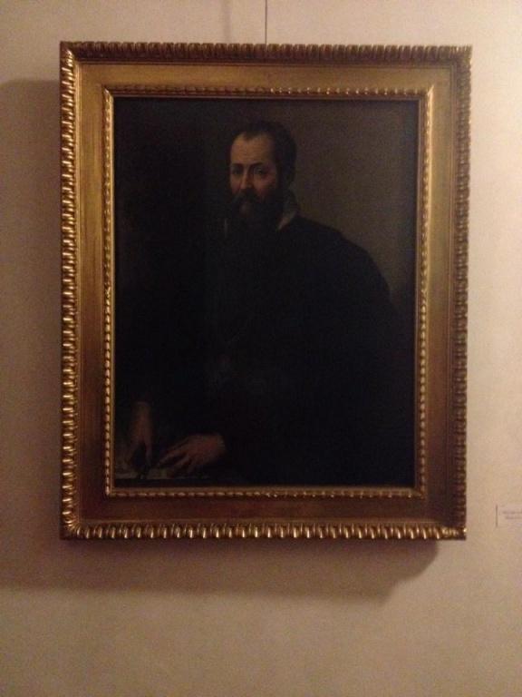 Firenze - Corridoio Vasariano: Il Vasari!