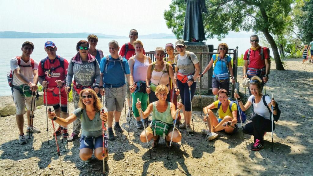 Splendidi e sorridenti all'Isola Maggiore! :-)