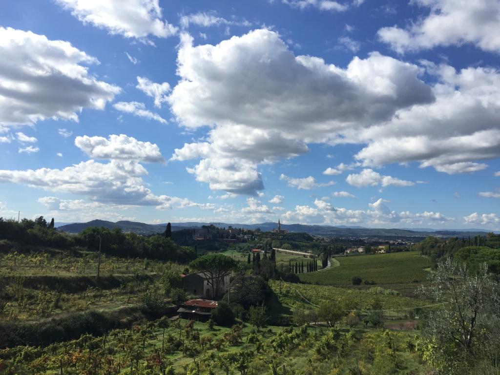 ...Arezzo sotto un tiepido sole autunnale...