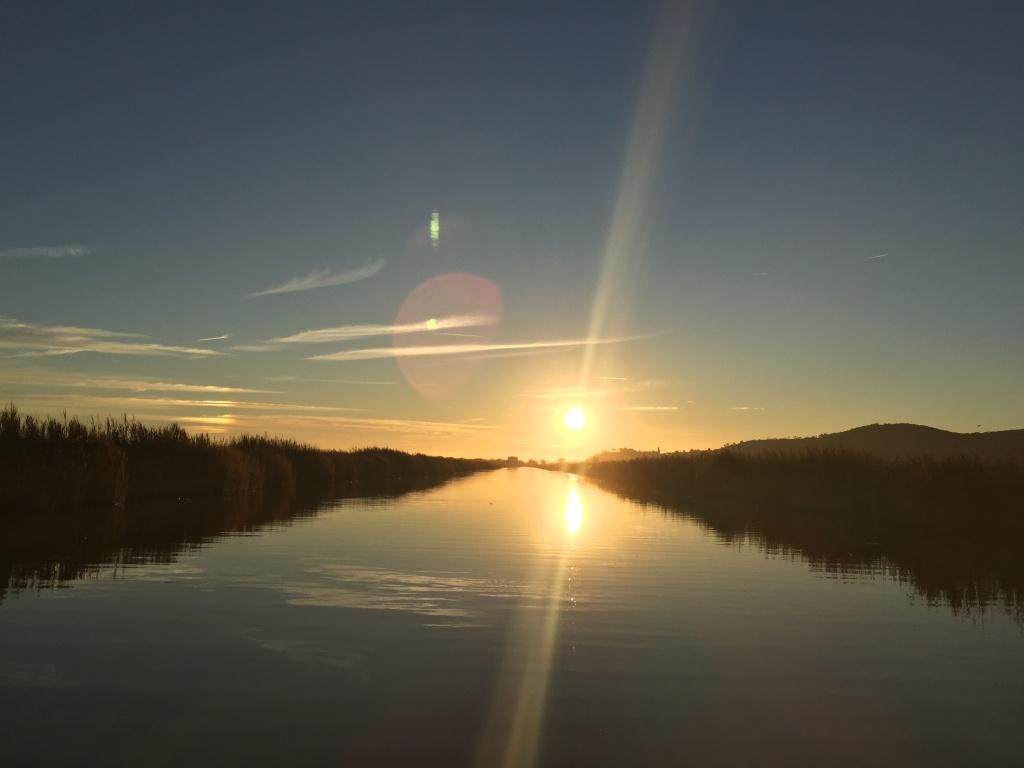 Tramonto nella Riserva Naturale della Diaccia Botrona - Castiglion della Pescaia