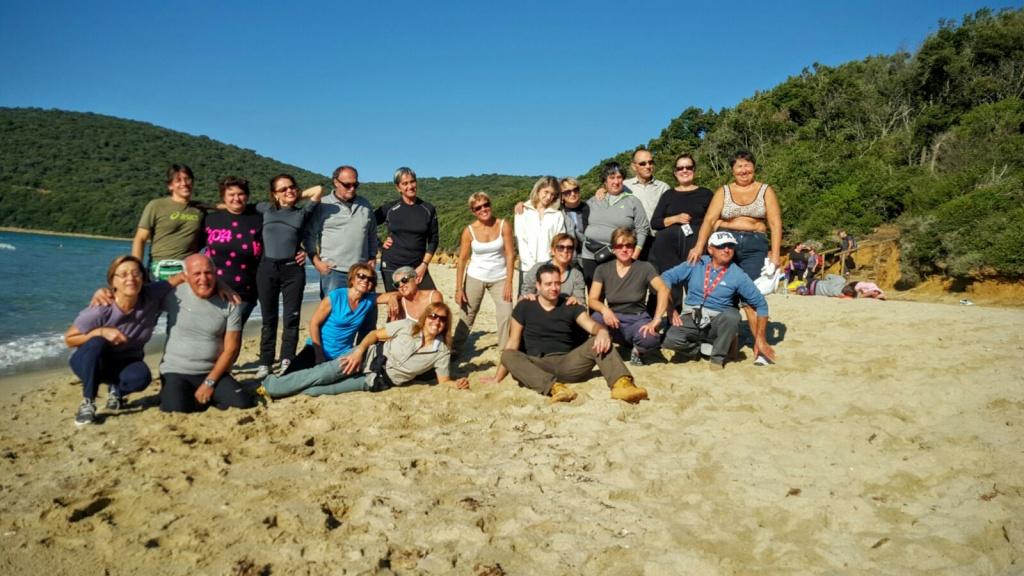 Sulla spiaggia di Scarlino con Nordic Walking Arezzo e la Tecnica 2pb!! :-)