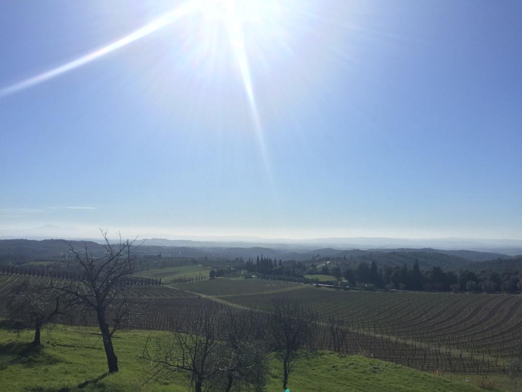 San Gusmé e i suoi immensi panorami