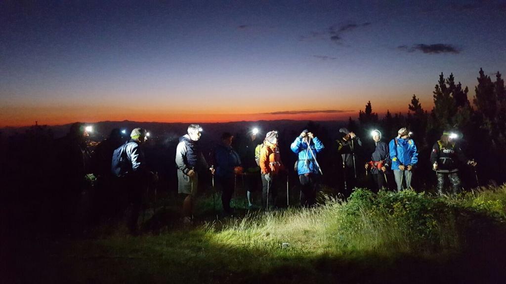 In notturna sul Monte Falterona
