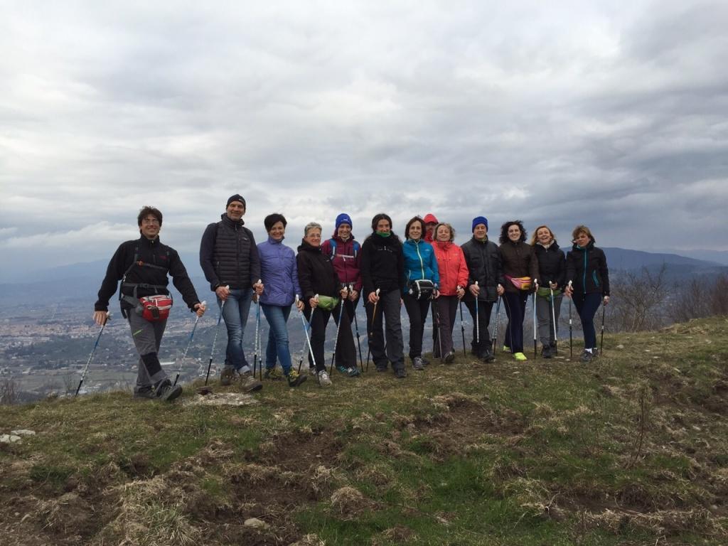 Da Sargiano al Monte Lignano col Nordic 2pb! :-)