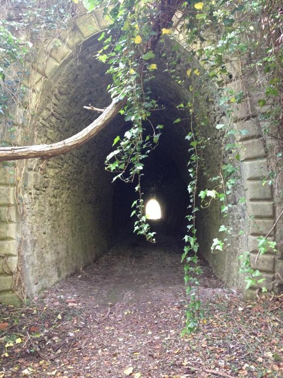 L'antica ferrovia abbandonata dell'Appennino centrale...
