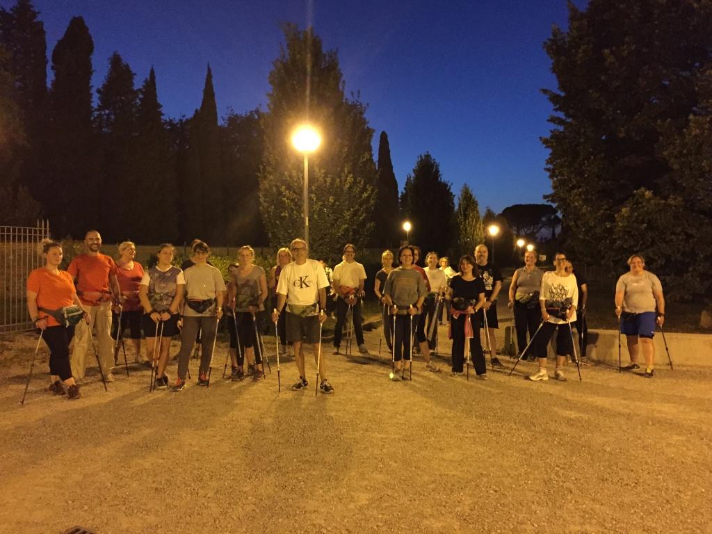 Lezione di Nordic 2pb in quel di Villa Severi del Mercoledì sera... :-)