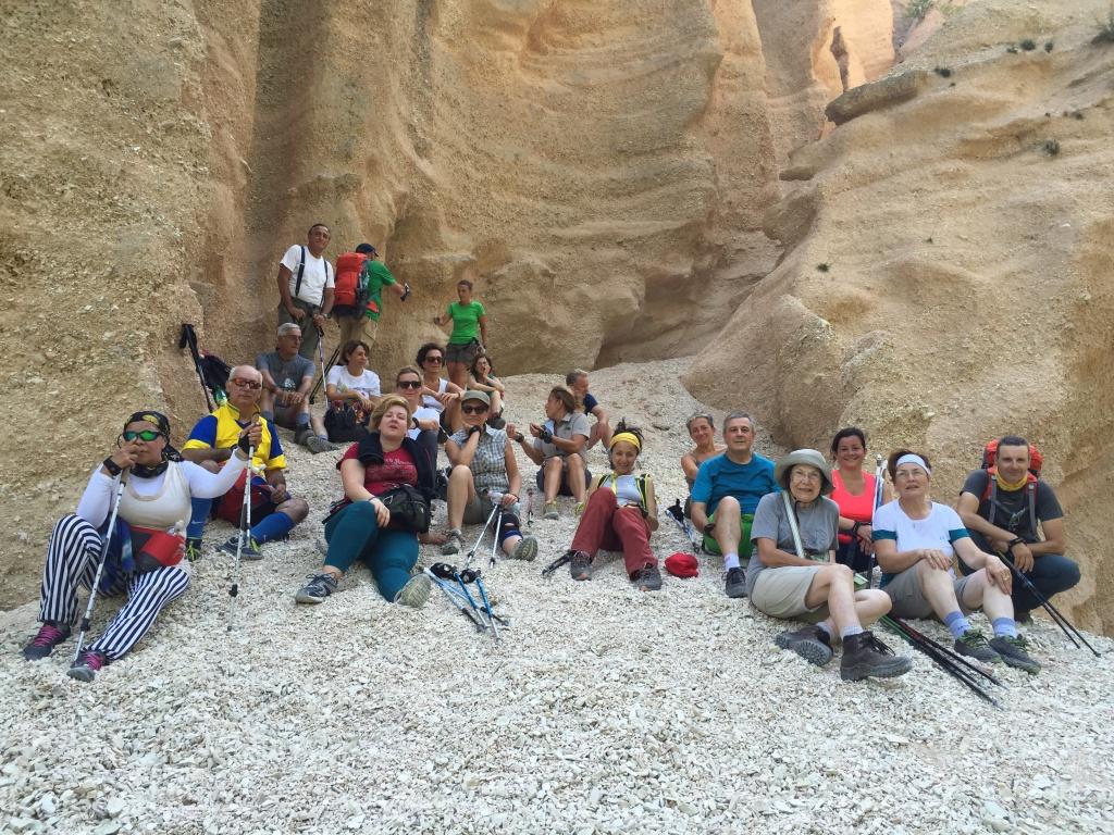 La geologia delle Lame Rosse