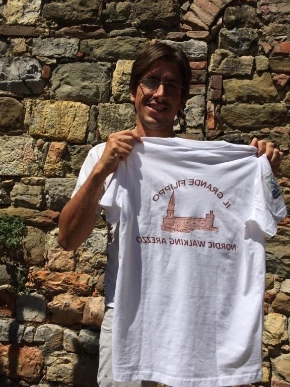 Il logo Nordic Walking Arezzo che unisce tutto il nostro splendido gruppo.... grazie Daniela!! :-)
