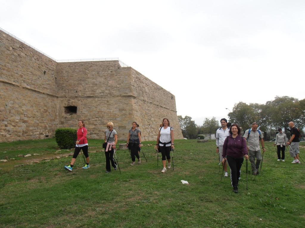 Nordic 2P/B alla Fortezza Medicea di Arezzo