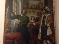 Firenze - Corridoio Vasariano: il protettore degli Orafi