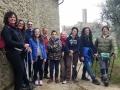 Col Nordic 2P/B al Castello di Montecchio! :-)