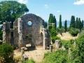 Le rovine del monastero olivetano di San Secondo.