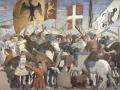 """""""Battaglia di Eraclio e Cosroè""""    Piero della Francesca 1458-1466  Basilica di San Francesco - Arezzo"""