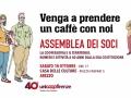 ASSEMBLEA SOCI COOP - SABATO 18 OTTOBRE 2014