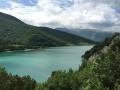 Il Lago di Fiastra nel Parco dei Monti Sibillini