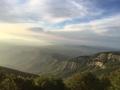 Panorama al tramonto dal Monte Falterona