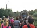Spiegazione durante la Notturna alla Fortezza Medicea del Girifalco - Cortona
