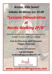 CORSO BASE DI NORDIC WALKING 2PB - SABATO 26 MARZO 2016